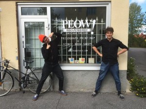 Några av personerna bakom Peow! studio