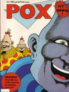Omslaget till första pox